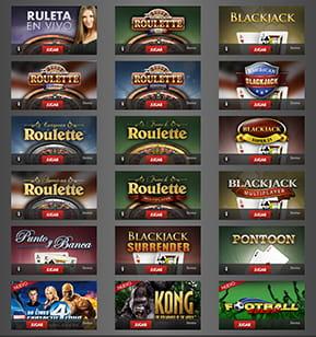 ассортимент игр онлайн казино