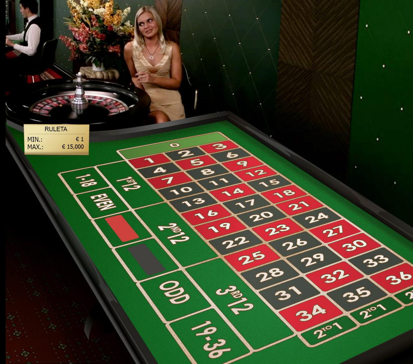 Juega Ruleta Europea Premium Online en Casino.com México