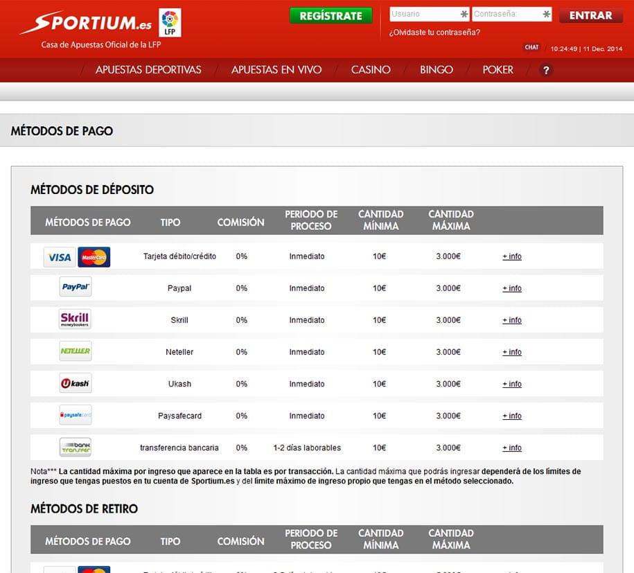 Los Mejores Metodos de Pago en Casino.com Chile
